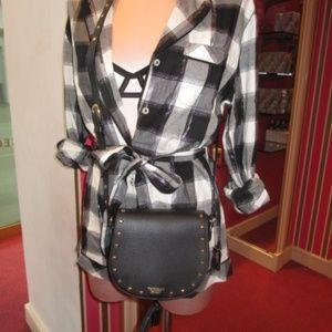 VICTORIA'S SECRET Cross Body Bag~Studded~Tassels